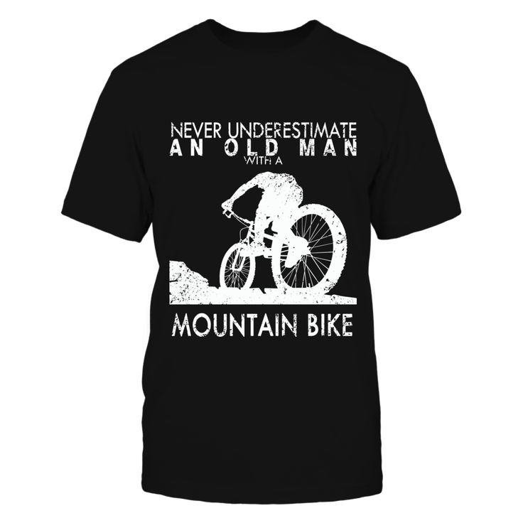 Never Underestimate An Old Man With A Mountain Bike T-Shirt, Makes a perfect gift for mountain biking dads and grandpas out there Design Not available in stores  ,  Available Products:          Gildan Unisex T-Shirt - $22.95 Gildan Long-Sleeve T-Shirt - $29.95 Gildan Unisex Pullover Hoodie - $39.95 Next Level Women's Premium Racerback Tank - $25.95 Pack of 4 stickers - $10.00       . Buy now => https://www.fanprint.com/never-underestimate-an-old-with-a-mountain-bike?ref=2502
