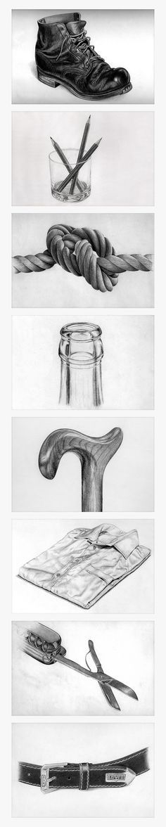 """Pencil Drawing """"Foun Pencil Drawing """"Found object"""" sketching exercise"""