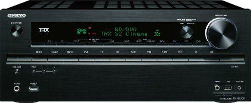 Onkyo TX-NR709 7.2-Channel Network A/V Receiver (Black)
