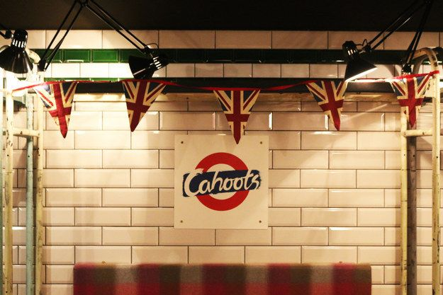 And you're in Cahoots.   There Is A Secret Underground Bar In London That Contains An Entire Tube Carriage - perfect for a London hen night