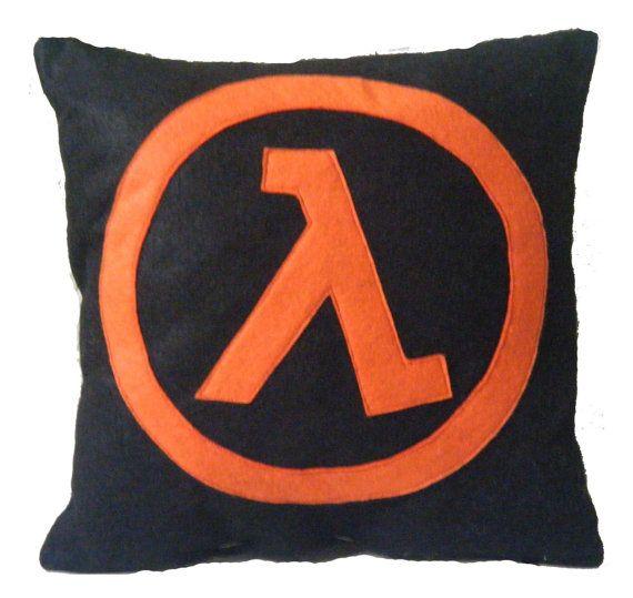 Half-Life Pillow by Nerd Cuddle ($18)