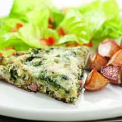 Green Eggs & Ham Frittata - EatingWell.com