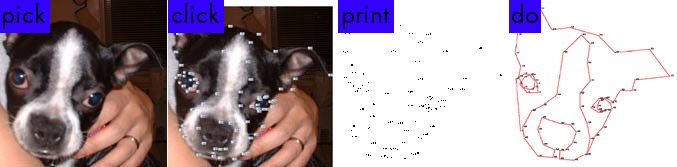 The picture dots website lets you create dot-to-dots from any digital picture.  Imagine how you could incorporate this into your curriculum!  Great sponge activity or intro!