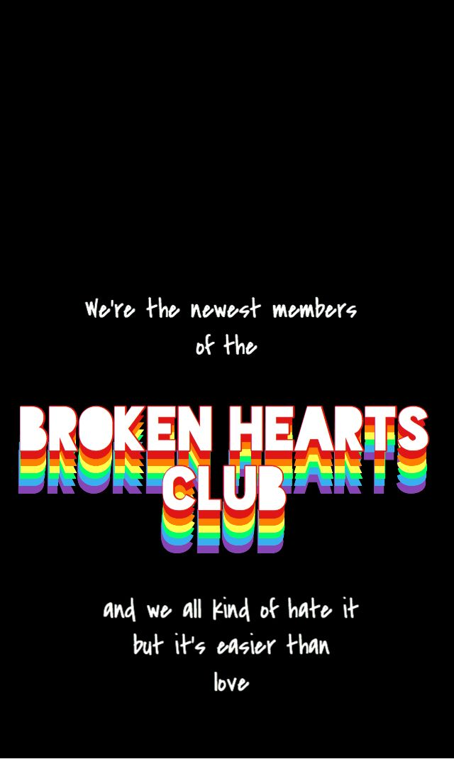 Iphone Wallpaper Broken Hearts Club Gnash Edgy Wallpaper