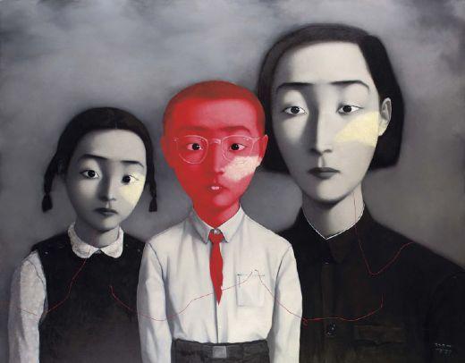 A Big Family Painting - Zhang Xiaogang