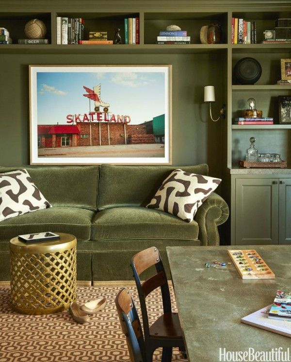 Olive Green Everything - Claire Brody Designs