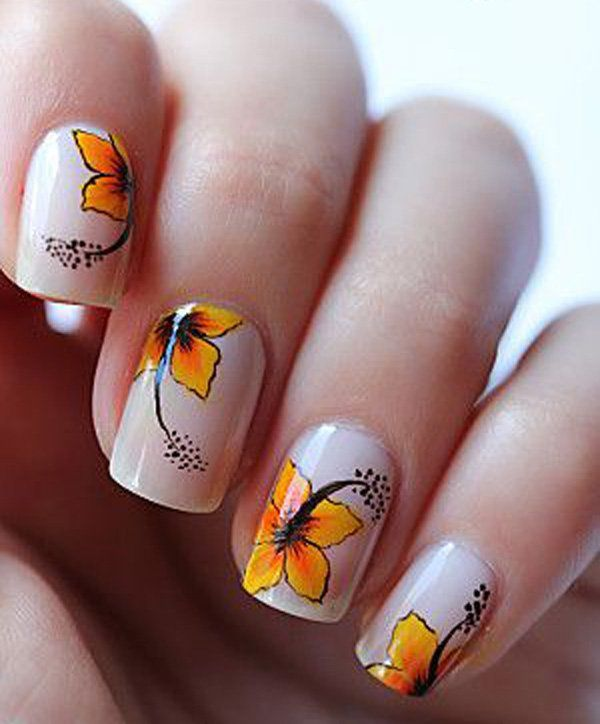 Flower Nail Art-6