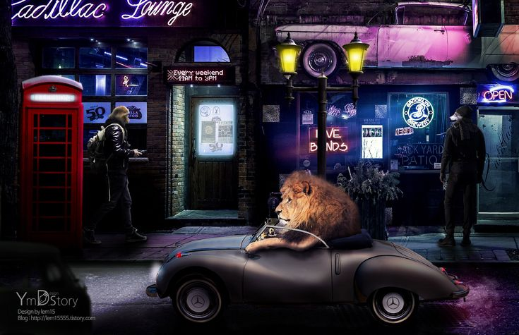 Photoshop Artwork #12 - Animal Land :: Ym.d_story