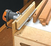 Palm Router Station - Woodworking Plan - Take a Closer Look