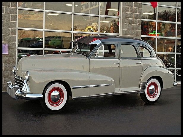 507 best images about oldsmobile on pinterest for 1948 oldsmobile 4 door sedan