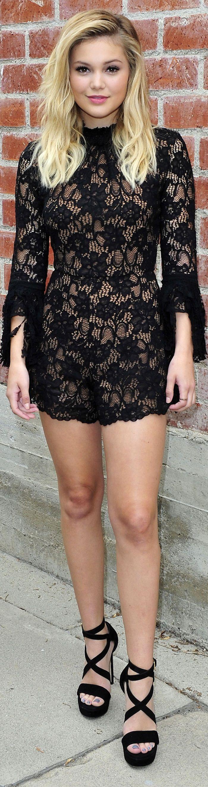 Olivia Holt Michael Simon Photoshoot in Hollywood May 2016