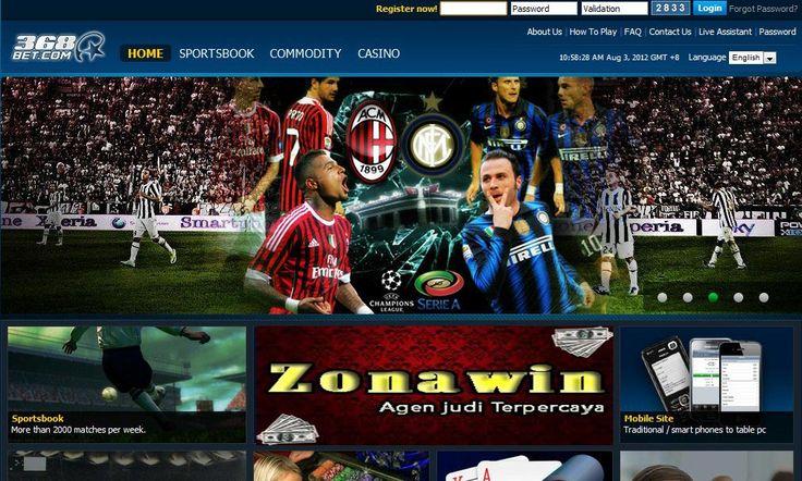 Bola Online 368bet (CMDBET) adalah sebuah produk game Sportbook (Olah Raga) untuk Betting Online Bola dari Agen Judi Bola Terpercaya Zonawin.