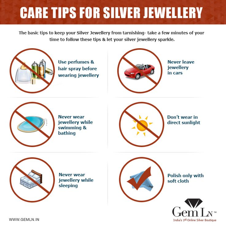 Care tips to keep your #silver #jewelry Sparkling