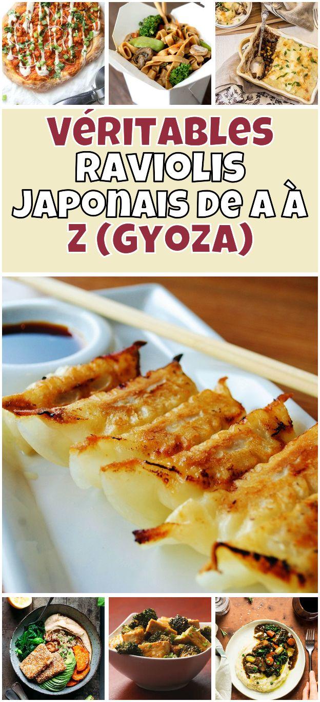 Veritables Raviolis Japonais De A A Z Gyoza Gyoza Vegetarian 6
