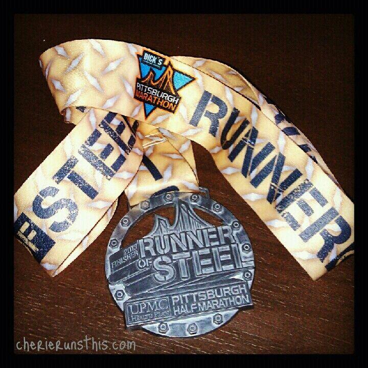 @Erin B Marathon  2013 medal half marathon