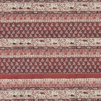 Red stripe linear damask vintage cozy homey wallpaper for living, dining, kitchen. #coloroftheyear #pantone #marsala