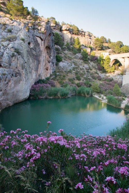 Fuente Caputa, un pequeño oasis en las proximidades de Mula (Murcia)