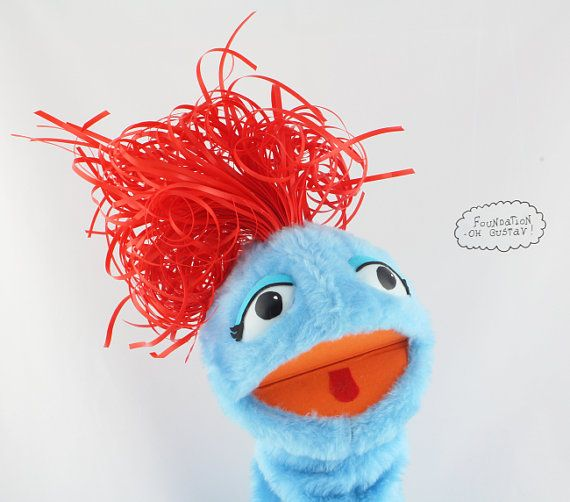 Awesome Hand Muppet Handmade Muppet Performance puppet by OhGustav