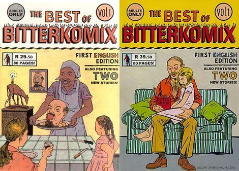 Best Of Bitterkomix  by Conrad Botes & Anton Kannemeyer