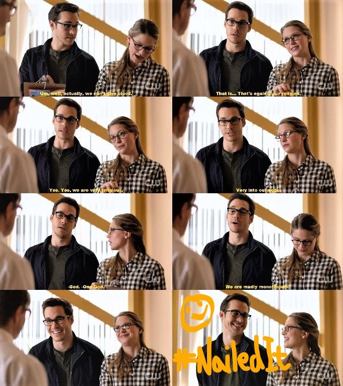 Kara and Mon-El Supergirl 2x09 Supergirl Lives. I spent most of this episode cracking up at them. Mon El's improv skills leave something to be desired, but oh man, the expressions he brings out in Kara! <3 Lol. I love how his alien bumbling undermines her attempts to look cool/in control. |TV Shows||CW's Supergirl||#Supergirl funny||Kara/Mon El||Kara x Mon-El||Kara Danvers/Mike Matthews||#Karamel||Edit|