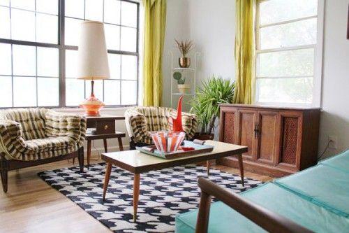 27+ Retro living room curtains ideas in 2021