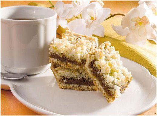 Te presentamos recetas livianas y fáciles de hacer. En esta ocasión, para disfrutar de una rica merienda con unos cuadraditos de dulce de leche y coco. Con pocos ingredientes y rápida cocción.