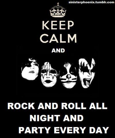 Hoje é dia de Rock bebê!