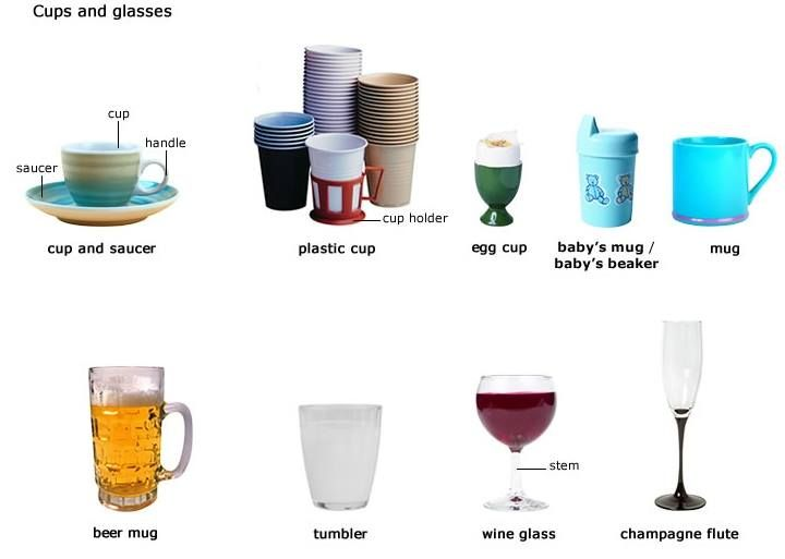 Forum Learn English Vocabulary Cups and Glasses  : d43a57f23e1c23666aabbf02cfdce93b from www.pinterest.com size 720 x 513 jpeg 28kB