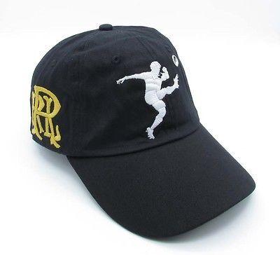 Polo Baseball Cap Black Tennis Golf Unisex New White Logo Rugby Sports Hat 25