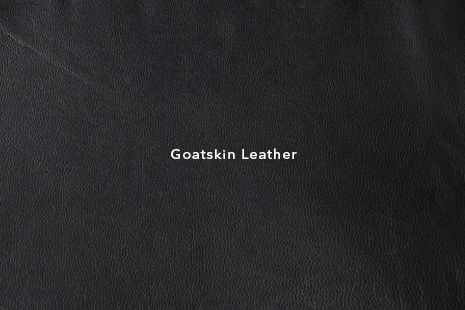 VIPARO - Types of Leathers - Black Goatskin Leather