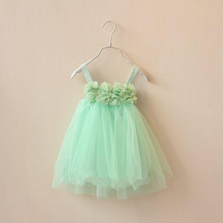 Tutu Dress - Mint Green