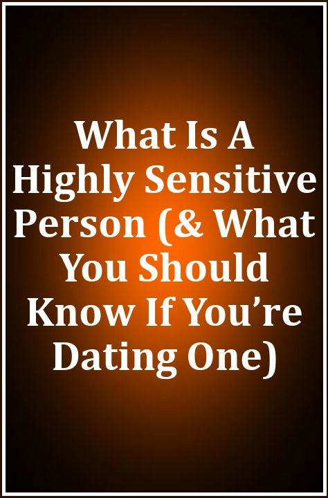 highly sensitive person dating site