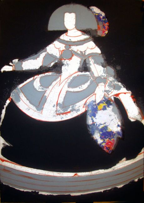 Manolo Valdés  diseño esta menina en 2008. Haz tu diseño de tu menina usando…