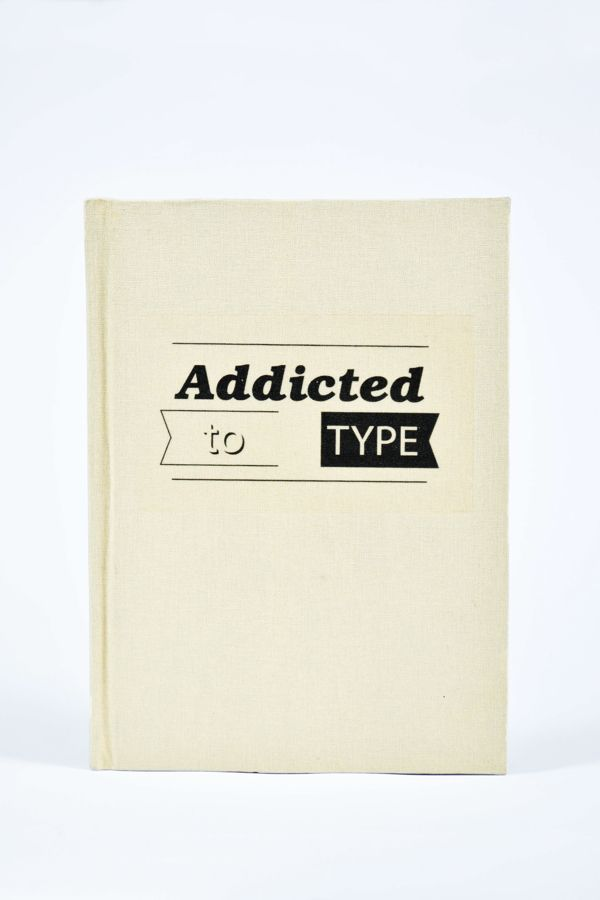 Addicted to Type - Bookworks Project by Nick Beel, via Behance