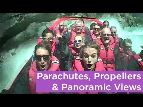 ▶ Queenstown: Parachutes, Propellers & Panoramic Views - YouTube - watchbbbtv