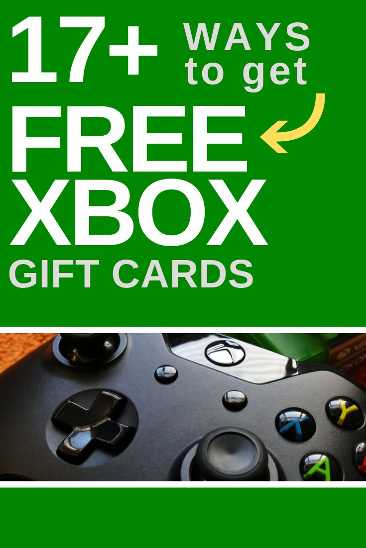 Free xbox gift cards 17 methods that work xbox gift