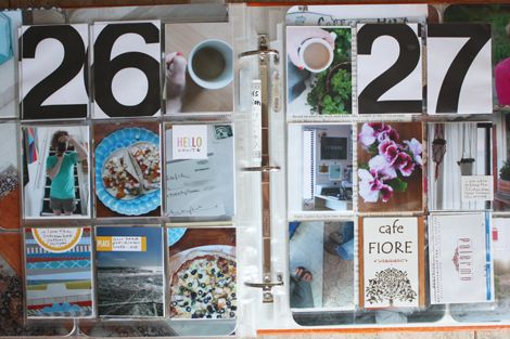 love this approach to week in the life (simplified) + project life // elise blaha
