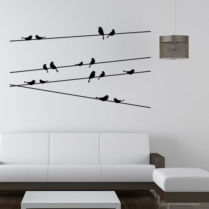 Branch Black Bird Wall Sticker //Price: $8.65 & FREE Shipping //     #wallsticker