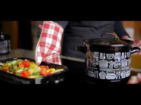 Enamel - from campfire to induction stove! - YouTube