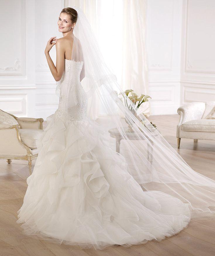 Glamorous Pronovias Wedding Dresses 2014 Dreams Collection. To see more: http://www.modwedding.com/2014/01/22/glamorous-pronovias-wedding-dresses-2014-dreams-collection/ #wedding #weddings #fashion