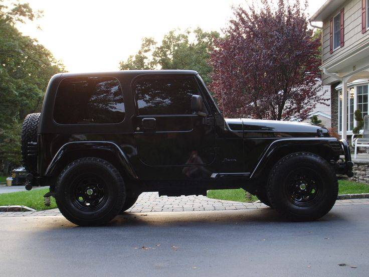 Check out blckedoutjeep 2005 Jeep Wrangler in old bethpage,NY for ride specification, modification info and photos and follow blckedoutjeep's 2005 Jeep Wrangler for updates at CarDomain.