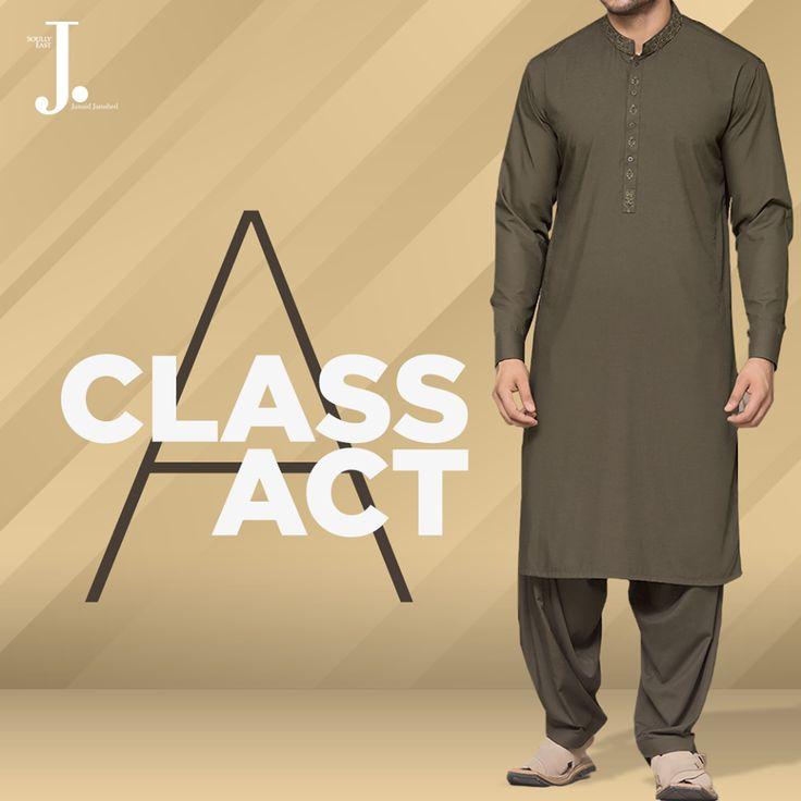 jamshed Junaid Causal kurta eid collection 2017