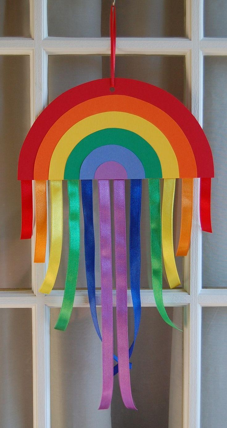 paper & ribbon rainbow