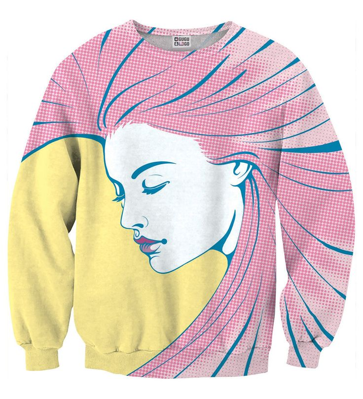 Pop Art 2 sweater, Mr. GUGU & Miss GO