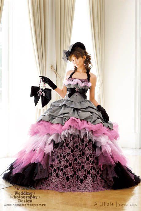 Beyond Kimono: 38 Modern Kawaii Japanese Wedding Dress Inspiration   Wedding Photography Design
