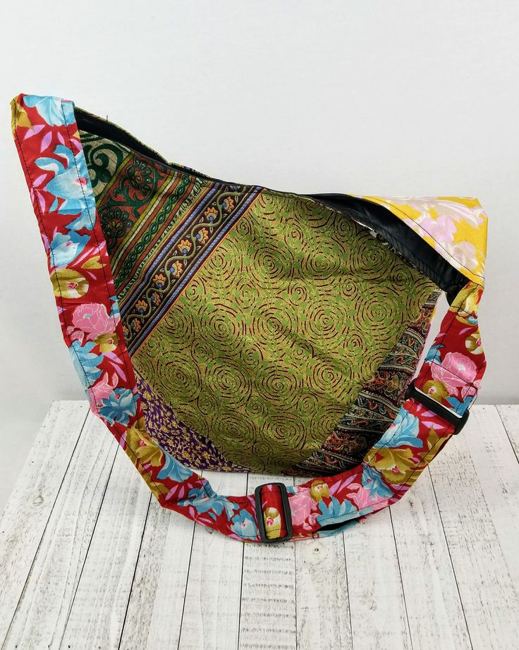 Sari soul upcycled silk purse