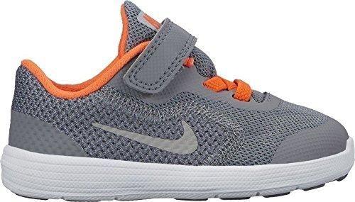 Oferta: 29.95€. Comprar Ofertas de Nike Nike Revolution 3 (Tdv) - Zapatos primeros pasos para niño, color gris, talla 25.0 barato. ¡Mira las ofertas!