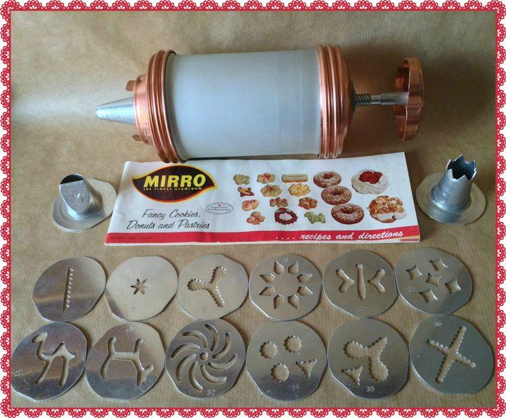 Mirro Biscuit & Icing Gun Vintage