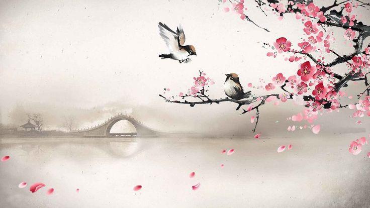 Soggiorno-camera-da-letto-decorazione-della-parete-di-casa-poster-di-stoffa-arte-asiatica-orientale-flowers.jpg (960×540)