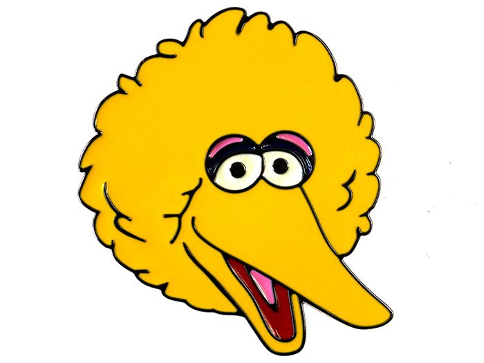 big bird face coloring pages - photo#40